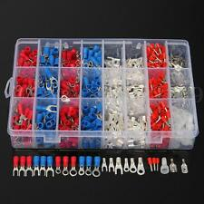 1000Pcs Insulated Electrical Wire Connector Crimp Terminals Spade Assorted Set