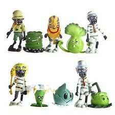 10x Plants vs Zombies 2 Action Figures Set Bloomerang Cake Topper Decor Kids Toy