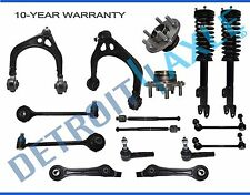 Brand New 18pcs Front Suspension Kit Wheel Hub and Bearing Assembly Ready Strut