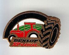 RARE PINS PIN'S .. AGRICULTURE TRACTEUR TRACTOR PNEU TYRE DUNLOP SP RADIAL ~BL