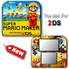 Super Mario Maker Special Edition Skin Sticker Decal Cover #1 for Nintendo 2DS