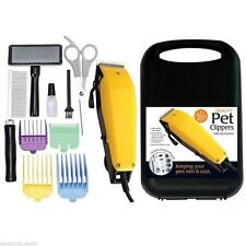 11 Pc Profesional Grooming Kit Animal Mascota Gato Perro Hair Trimmer Clipper Afeitadora