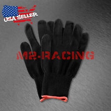Professional Vinyl Wrap Wrapping Seamless Cotton Glove Anti-static Complex Curve