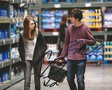 Cara Delevingne And Nat Wolff *Paper Towns* Combo Hand Signed 8x10 Photo w/COA