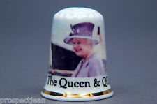 The Queen & The QE2. Luxury Ship Named by Her Majesty In 2010 Thimble B/161