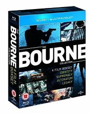 BOURNE Complete Movie Collection Bluray Boxset 1 2 3 4 IDENTITY SUPREMACY LEGACY