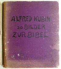 Alfred Kubin, Vorzugsausgaben, Alfred Kubin 20 Bilder zur Bibel, Kubin Bibel,