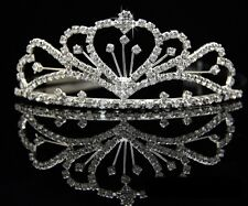 Wedding Bridal Bridesmaid Flower Girls crystal tiara crown / headband 004