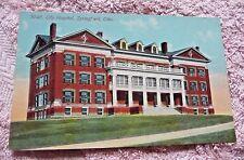 VINTAGE  POSTCARD  CITY HOSPITAL SPRINGFIELD OHIO