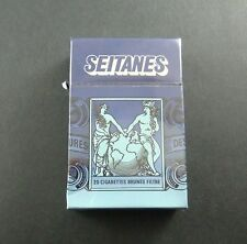 PAQUET 20 CIGARETTES SEITANES BRUNES SEITA TOBACCO TABACS ANCIEN PACK OLD FRANCE