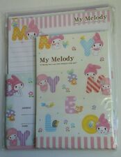 Sanrio My Melody Jumbo Kawaii Letter Set stationery Japan