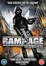 Rampage (DVD) (NEW AND SEALED)