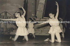 YOUNG GIRLS DANCING DANCERS ON STAGE 8 X 10 PHOTO M-DANCERS