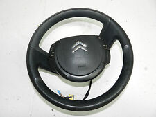 CITROEN C4 2006 MULTIFUNCTION STEERING WHEEL WITH AIRBAG REF1550