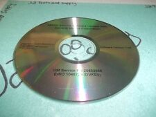 +USED Genuine GM MY09i Service Software Update Disc 20833568