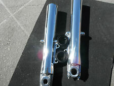 Harley sliders lower legs front forks FLH FLT FLHRI Road King FLHRC POLISHED