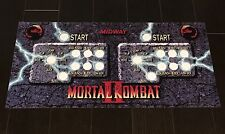 Mortal Kombat 2 Arcade Control Panel Overlay 7 Button MK2 MKII CPO Mame Midway