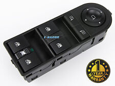 NEW OPEL ASTRA H ZAFIRA B 2004- POWER MASTER WINDOW SWITCH CONSOLE 13228877