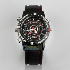 8GB HD Spy Wrist Watch Video Recorder Hidden Camera DVR DV Waterproof Camcorder