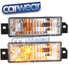 BMW E30 3-SERIES CLEAR FRONT INDICATOR 318i 320i 323i 325e 325i BUMPER BAR LIGHT