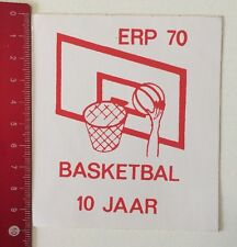Aufkleber/Sticker: ERP 70 - Basketbal 10 Jaar (100616137)