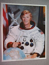 Russell Schweickart Autographed  Apollo 9 NASA Litho