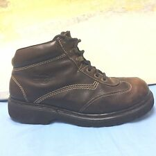 Dr Doc Martens 9234 Mens US 12 UK 11 Wing Tip Ankle Boots Shoes, Brown