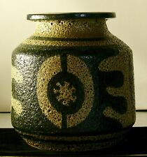LAPID ISREAL MID CENTURY DESIGN SIGNED POTTERY STONEWARE
