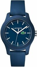 Women's Lacoste 12.12 Blue Rubber Band Watch 2000955