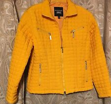 Sharp!! Emanuel Ungaro  Canary Yellow Jacket