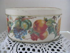 Fruit Oval Tin ~ **Gift Idea