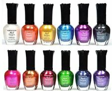 KLEANCOLOR Metallic Nail Polish 12 PACK Full Size Nail Lacquer Beauty Makeup NEW
