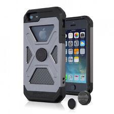 RokForm Apple iPhone SE, 5, 5s Fuzion + Magnetic Aluminum Phone Case - Gun Metal