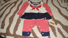 NEW NWT HARAJUKU MINI 6M 6 MONTHS SAILOR OUTFIT