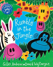The Rumble in the Jungle by Giles Andreae (Mixed media product, 2007)