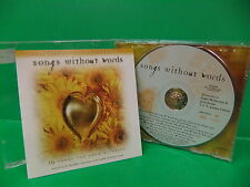 Songs Without Words Instrumental Collection 1998 VG++ CD Brentwood 83061-0344-2