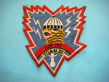 VIETNAM WAR BE PATCH, ARVN SPECIAL FORCES 3rd GROUP THUNDER TIGER RECON TEAM