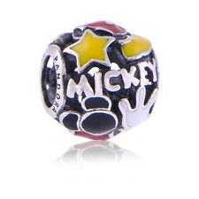 Genuine Pandora Sterling Silver Disney's MICKEY MANIA Charm Park Exclusive Auth