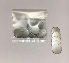 Stainless Steel Disc's (25) for Metal crafts - 20.5mm diameter x 0.9mm thick