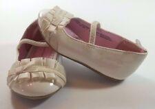 Baby Girl Dress Shoes Size 4 Healthtex White Slip On Easter