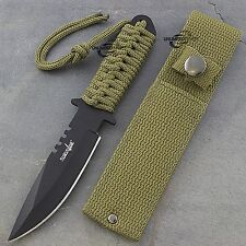 "7.5"" TACTICAL COMBAT HUNTING FIXED BLADE BOWIE KNIFE Dagger Military Survival"