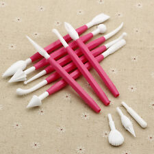 8PCS Sugarcraft Modelling Tool Fondant Cake Decorating Paste Flower for Baking