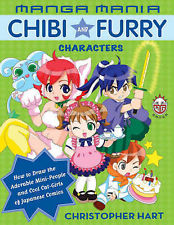 Manga Mania Chibi and Furry Characters - How to Draw the Adorable Mini-people an