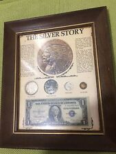 The Silver Story Silver Dollar, War Nickel, Mercury Dime, & Silver Certificate