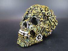 Steampunk Totenschädel Totenkopf Skull Schädel mit Schrauben,Hammerteil,New