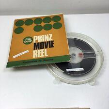 VINTAGE 8MM FILM - 1975 AUSTRIA TRAVEL MOVIE - 400FT PRINZ REEL CAN & BOX