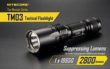Nitecore TM03 XH-P70 LED 2800 Lumen IMR18650
