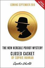 Hercule Poirot Mysteries: Closed Casket by Sophie Hannah and Agatha Christie...