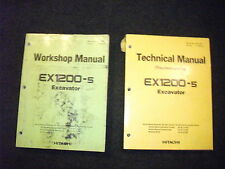 Hitachi EX1200-5 workshop/service technical troubleshooting manual