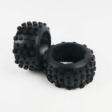 Knobby REAR Off Road Tire Kit for HPI Baja 5B SS Digger Rovan King Motor Baja